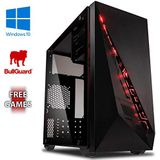 Vibox VBX-PC-00441 Submission 6W Gaming Desktop PC (AMD A Series A8-7600, 8GB RAM, 1TB HDD, AMD Radeon R7, Win 10 Home) groen