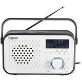 Bigben Interactive TR24DAB Draagbare radio (persoonlijk, analoog, DAB+, FM, PLL, Auto Scan, LED, 3,5 mm)