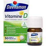 Davitamon Vitamine D Kinderen - speciaal ontwikkeld voor kinderen - Groei en Ontwikkeling - Voedingssupplement - 50 Smelttabletjes