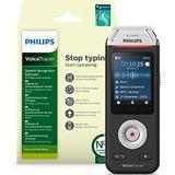 Philips Voicetracer Audiorecorder DVT2810 met Dragon Spraakherkenningssoftware voor Windows