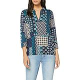 Marc O'Polo Jersey blouse, lange mouw, collar