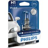 Philips WhiteVision Koplamp, Xenon-effect H1. Single blister