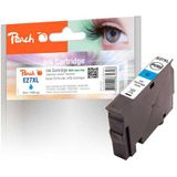 Peach Inktcartridge cyaan compatibel met Epson No. 27XL c, T2712