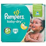 Pampers 81657567 Baby-Dry Pants luiers, wit