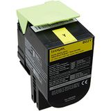 Lexmark 80C20Y0 Return Program Toner Cartridge, geel