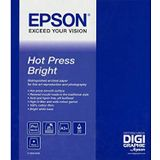 Epson C13S042332 A2 Fine Art Hot Press Bright Paper Sheet (Pack of 25)