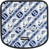 Tagger 5001-705252-BSLY Messenger Flap Crew - Delft's Blue BSLY, unisex - volwassen boodschappentas, 46 x 30 x 15 cm (B x H x D), Wit/Bsly (wit) - NW-Connection Tagger