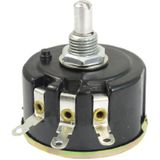 sourcingmap® WX050 1K Ohm 5W 6mm Ronde as roterende draad wond potentiometer