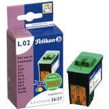 Pelikan 346339 inktcartridge Lexmark Z13, 23, 25, 33, 35, 601, 602, 603, 604, 605, 615 - No26 - TRICOLOR
