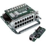 Cisco 16-poorts Switch Network Module Switch-componenten - Switch-componenten (zilver, 0,1 GB/s, Ethernet, Fast Ethernet, kabel, 10BaseT, 100BaseTX, 802.P, 802.Q, 802.D, IEEE 802.11 IEEE 802.3u)