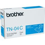Brother TN-04C, originele tonercartridge, cyaan