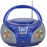 AudioSonic CD-156 stereo radio blauw