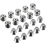Spikes-Spider 71910 1 set adapter fixclips sleutelbreedte 19 mm (10 stuks)