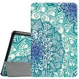 Fintie Samsung Galaxy Tab E 9.6 Hoes Case - Ultra Slim Super Licht Stand SlimShell Cover Beschermhoes Etui Tas voor Samsung Galaxy Tab E T560N / T561N 24,3 cm (9,6 inch) Tablet PC, Emerald