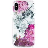 Ted Baker BABYLON Anti Shock Cover voor iPhone X/XS - Clear Back