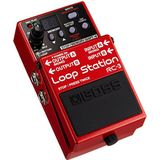 Boss RC-3 Loop Station Pedal, Small, rood