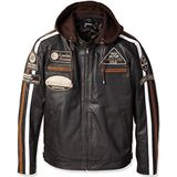 Urban Leather UR-01 58 Herenjas 5XL Bruin