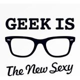 cardelicious Geek Is The New Sexy | Funny wenskaart, blanco
