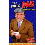 """Only Fools & Horses OFF02 Vaderdagkaart, opschrift""""To a Triffic Dad"""""""