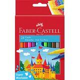 Faber-Castell 554202 - viltstift Castle, 24 stuks kartonnen etui