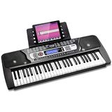 RockJam RJ654 54 Key Keyboard Piano met bladmuziekstandaard Piano Note Sticker Voeding en gewoon piano-applicatie