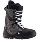 Burton Heren Rampant Snowboard Boot, Black/Blue, 8.0