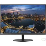 "Lenovo ThinkVision T24d 24"" Full HD IPS Zwart computer monitor"