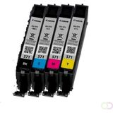 CANON CLI-571 Value Pack blister 4x6 Phot Paper PP-201 50sheets + Cyan Magenta Yellow & Photo Black ink tanks kopen