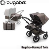 Bugaboo Donkey3 Twin - Mineral Taupe