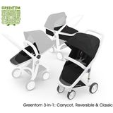 Greentom 3-in-1 White- Black