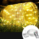 12M Batterij aangedreven 120LED String Light 8 Modes Afstandsbediening Fairy Lamp Party Christmas Home Decor