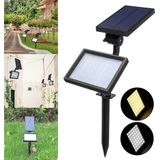 48 LED Zonne-energie Flood Light Outdoor Yard Tuinlandschap Spot Wandlamp