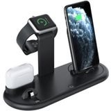 Bakeey 7 in 1 Qi Multi-function with Night Light Wireless Charger Stand Fast Charging Dock Station for Apple Watch iWatch 5 4 3 AirPods Pro For iPhone 11