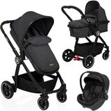 Kinderwagen Baninni Otto Dusty Black (incl. autostoel)