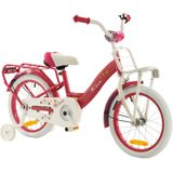 2Cycle Magic Kinderfiets - 16 inch - Roze-Wit