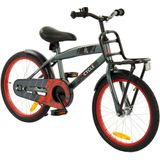 2Cycle Track Kinderfiets - 18 inch - Grijs
