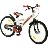 2Cycle BMX Kinderfiets - 20 inch - Wit-Rood