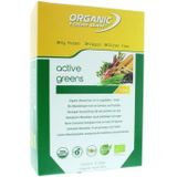 Organic Food Bar active greens 12x68g