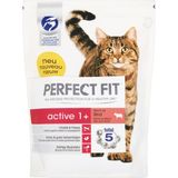 3x Perfect Fit Droogvoer Active Rund 750 gr