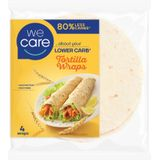 WeCare Lower Carb Tortilla Wraps 160 gr