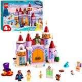 LEGO Disney Prinses 43180 Belle's Kasteel Winterfeest