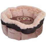Happy House Hondenmand / Kattenmand Rond Cute Pets Roze