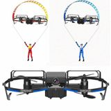 2.4ghz wifi met hd camera 2 in 1 rc stunt paraglider vliegmodus hoogte hold-modus mini quadcopter drone rtf
