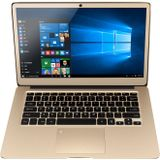 880.015 Xiaoma 31 Intel N3450 13,3 inch Quad Core 1,10 GHz 4 GB DDR3 64GB eMMC Intel HD Afbeeldingen 500 Win 10 Home Laptop HDMI Volledig metalen gouden luxe notebook 500 IPS Scherm