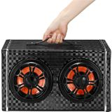 150 W Draadloze Bluetooth Auto Speaker Super Bass Subwoofer Surround Sound Met Microfoon Voor 12V / 24V / 100-240