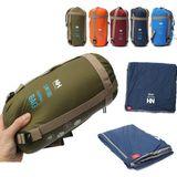 Naturehike NH15S003-D Outdoor Camping Slaapzak Ultralight Envelop Tas Voor Reizen Wandelen 1.9x0.75m