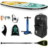water live free force 10.6x33x6inch surfboard 15-18psi max. belasting 105kg watersport sup board stand up paddle