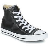 Converse Chuck Taylor All Star CORE LEATHER HI Sneakers dames Zwart