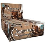 Quest Nutrition Quest Bar - 12x60g - Double Chocolate Chunk, chocolade
