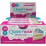 Quest Nutrition Quest Bar - 12x60g - Birthday Cake, Overige